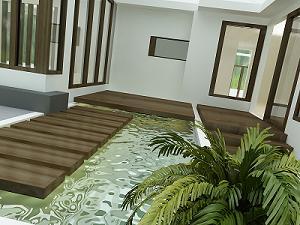 Lantai Kayu Rumah on Interior Rumah Dan Beberapa Bagian Rumah Seperti Halaman Ruang Tamu